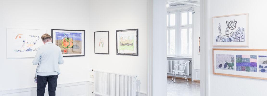 Ausstellung zum Bundeskunstpreis in der Villa Bosch